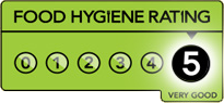 Karmana Five Star Hygiene Rating